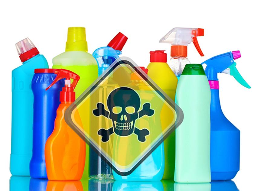 Không sử dụng chất tẩy rửa trong khi sử dụng