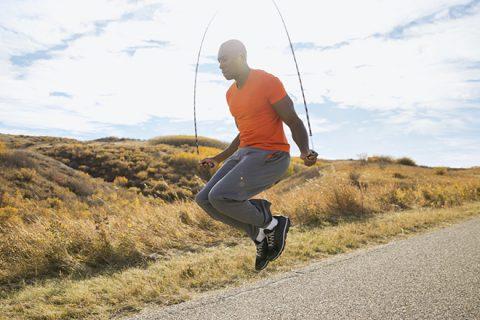 8 phút nhảy dây giảm cân