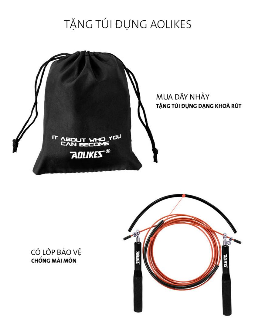 Túi đựng dây để mang theo đi xa