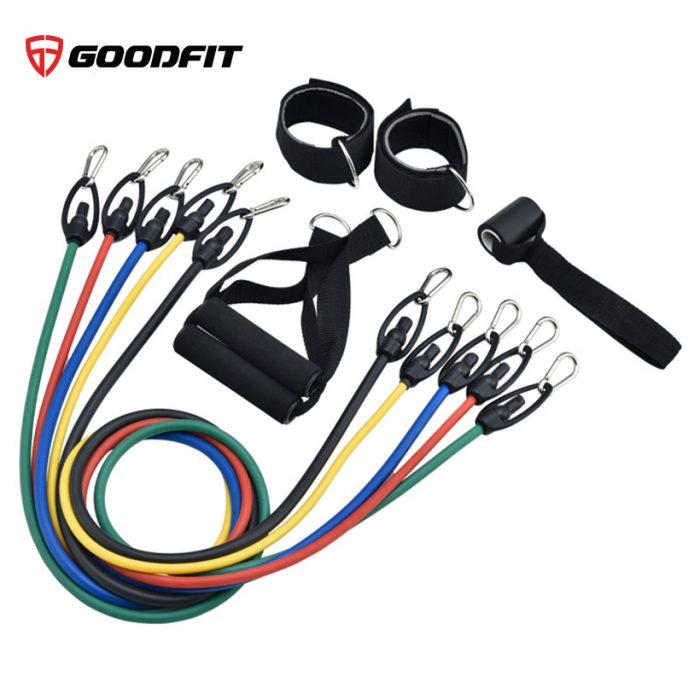 Bộ 5 dây tập thể dục đàn hồi chính hãng MDBuddy MD1366