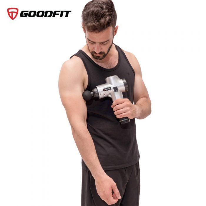 Máy mát xa cầm tay Massage Gun chính hãng GoodFit GF211MG