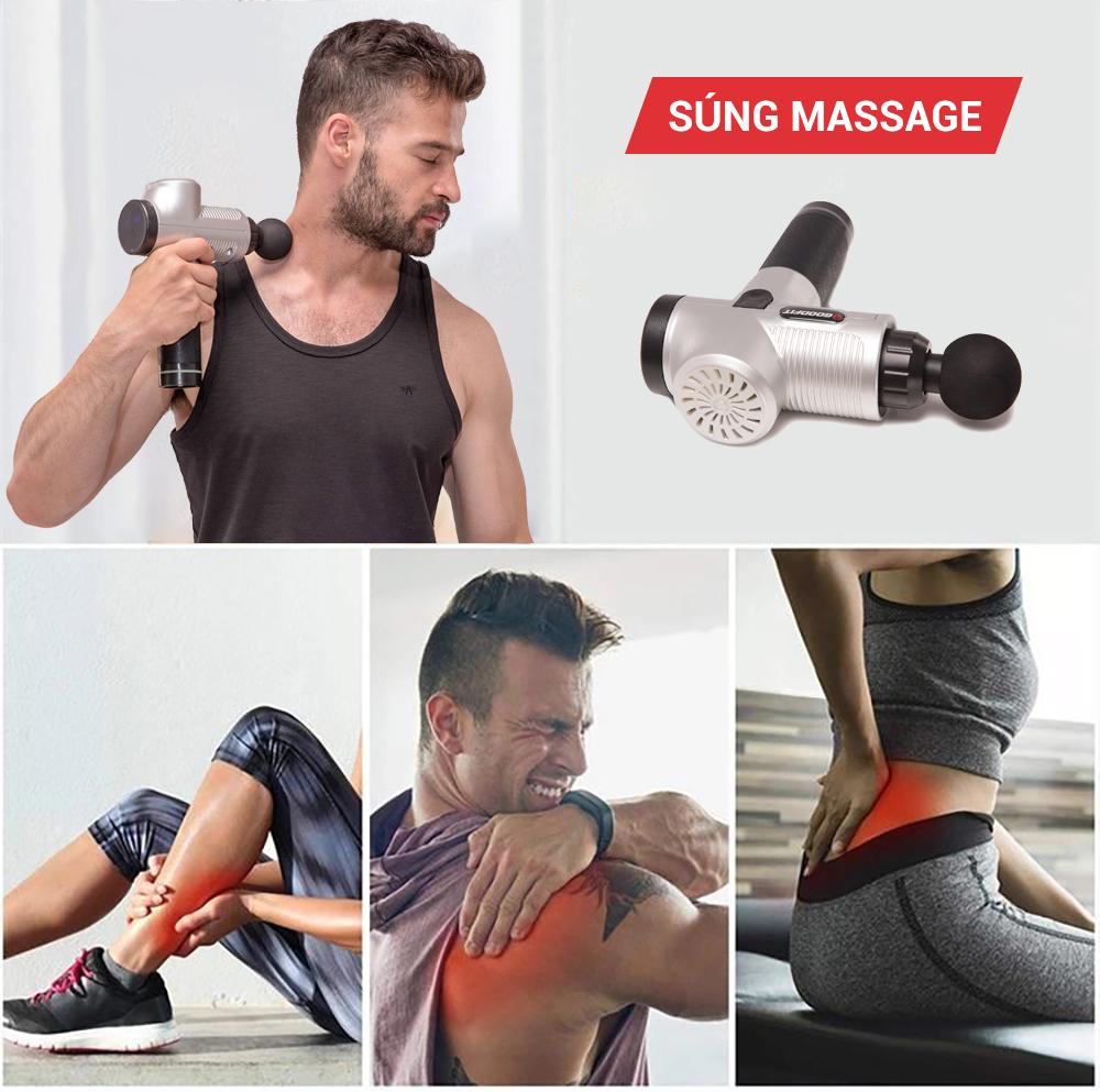 Máy mát xa cầm tay Massage Gun
