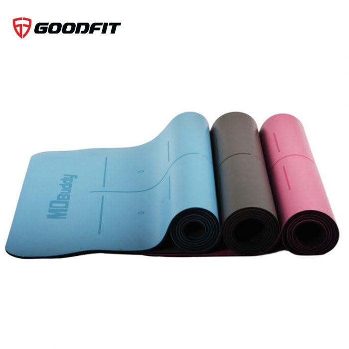 Thảm tập Yoga chất liệu PU cao cấp MDBuddy MD9040