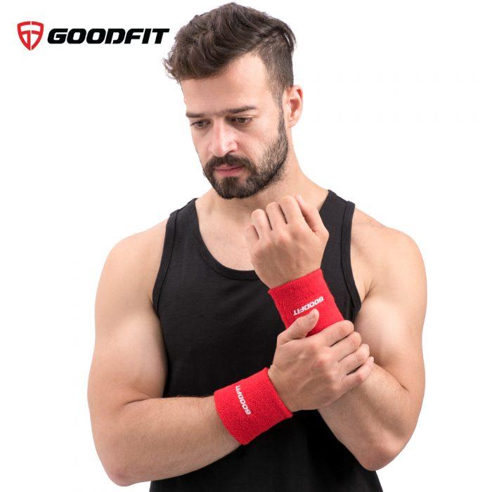 Băng cổ tay thấm mồ hôi GoodFit GF303W