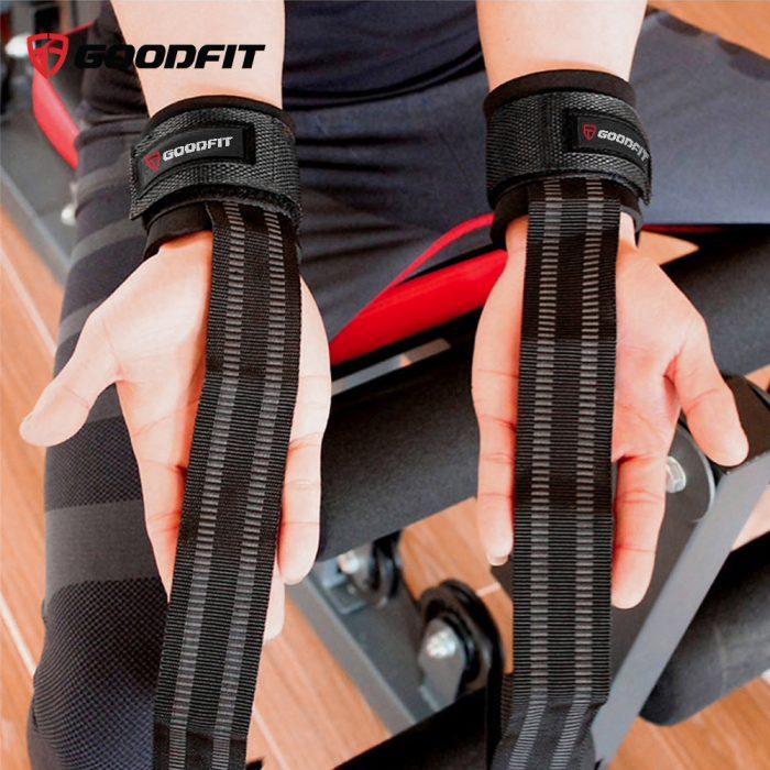 Dây kéo lưng tập gym Lifting Straps GoodFit GF731LS