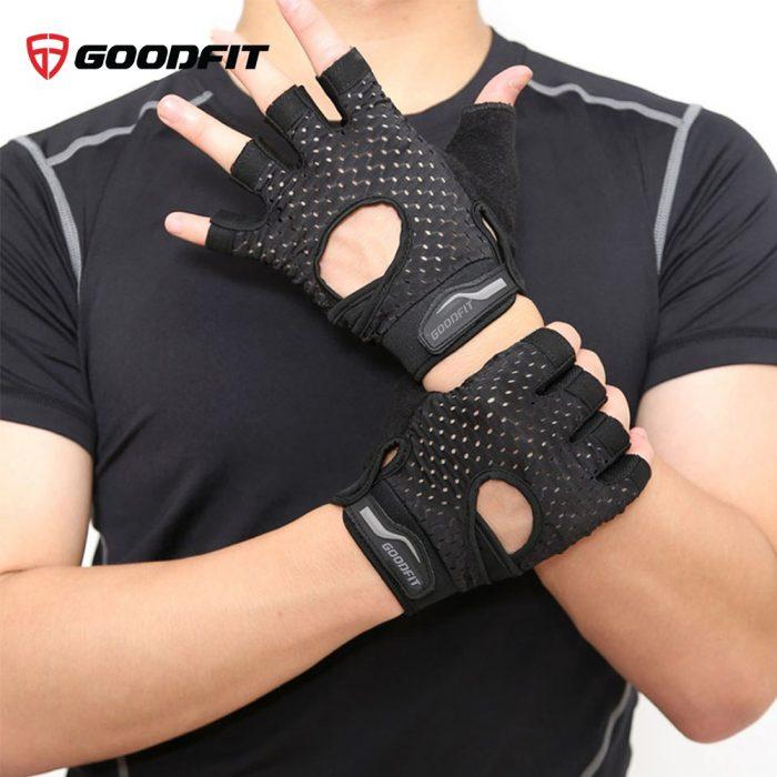 Găng tay, bao tay tập gym nam nữ GoodFit GF203G