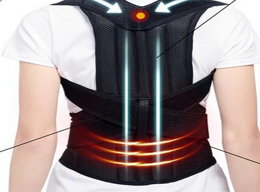 Tìm hiểu về đai chỉnh cột sống, giữ thẳng lưng cho người gù