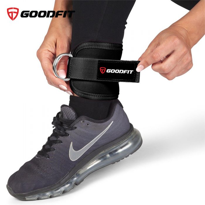 Băng bảo vệ cổ chân có móc sắt GoodFit GF615A