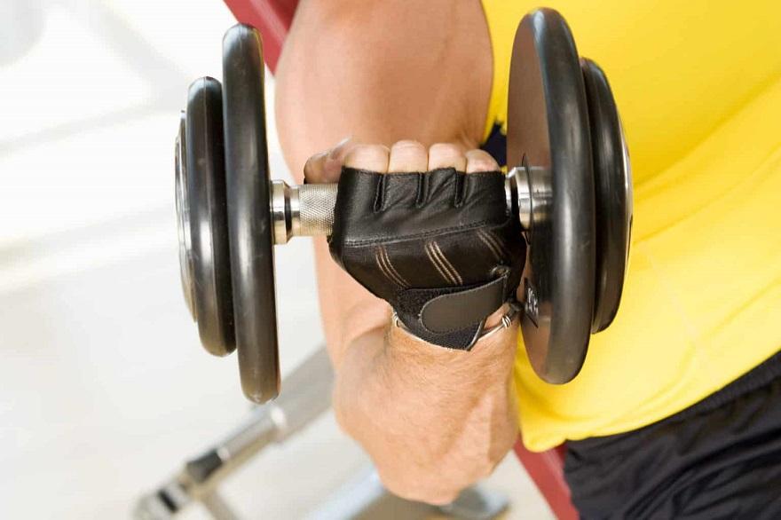 găng tay tập gym nam
