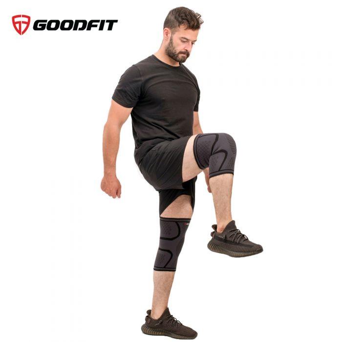 Băng đầu gối, bó gối thể thao đàn hồi GoodFit GF518K