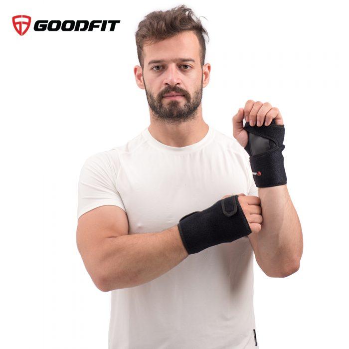 băng nẹp khớp cổ tay cố định khớp cổ tay goodfit