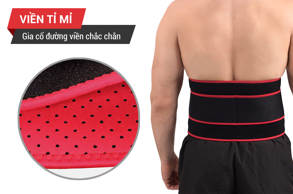 đai lưng Gym