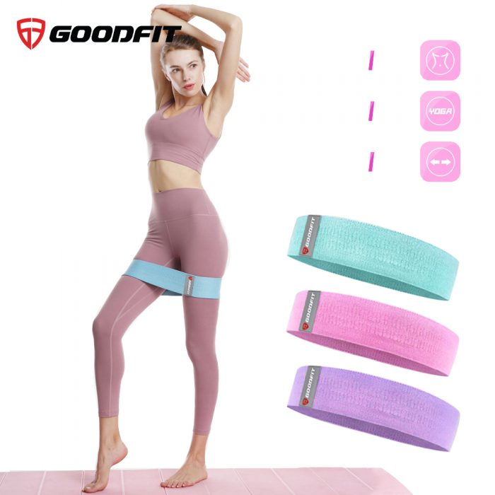 SET 3 dây tập gym, tập mông mini band GoodFit GF914MB