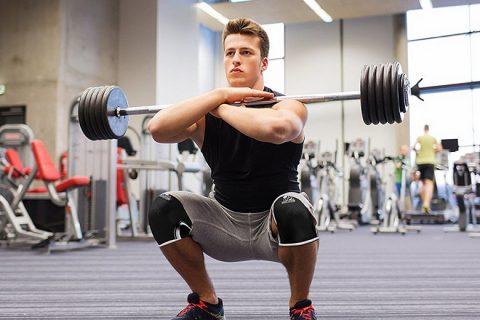 Bảo vệ đầu gối tập gym