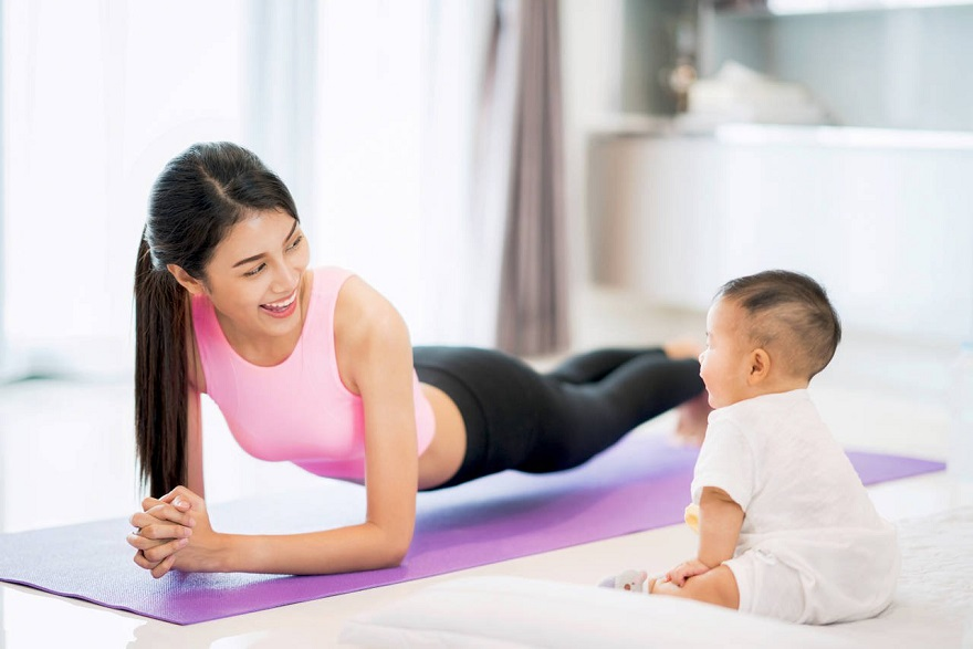Giảm cân sau sinh 2 tháng