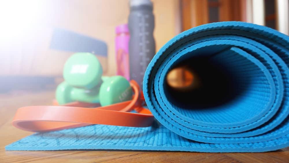 Có nhiều cách để làm sạch thảm Yoga