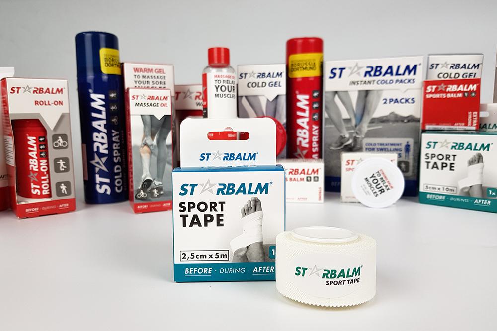 Starbalm sport tape