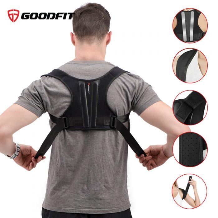 Đai lưng chống gù, vẹo cột sống có nẹp định hình GoodFit GF714P
