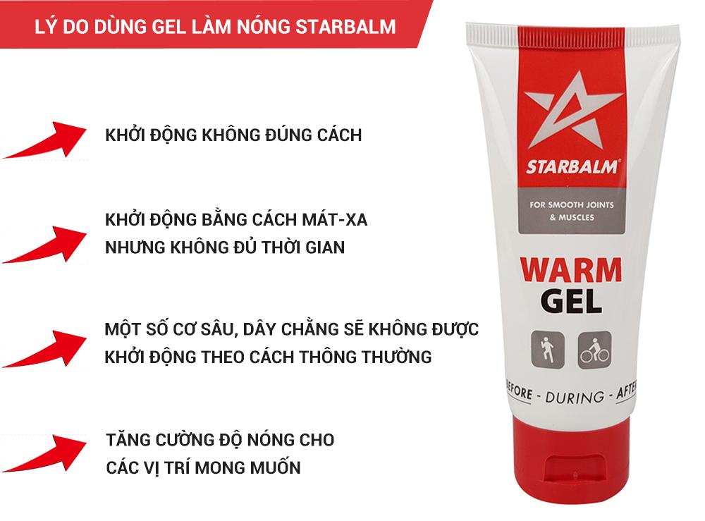Starbalm warm gel