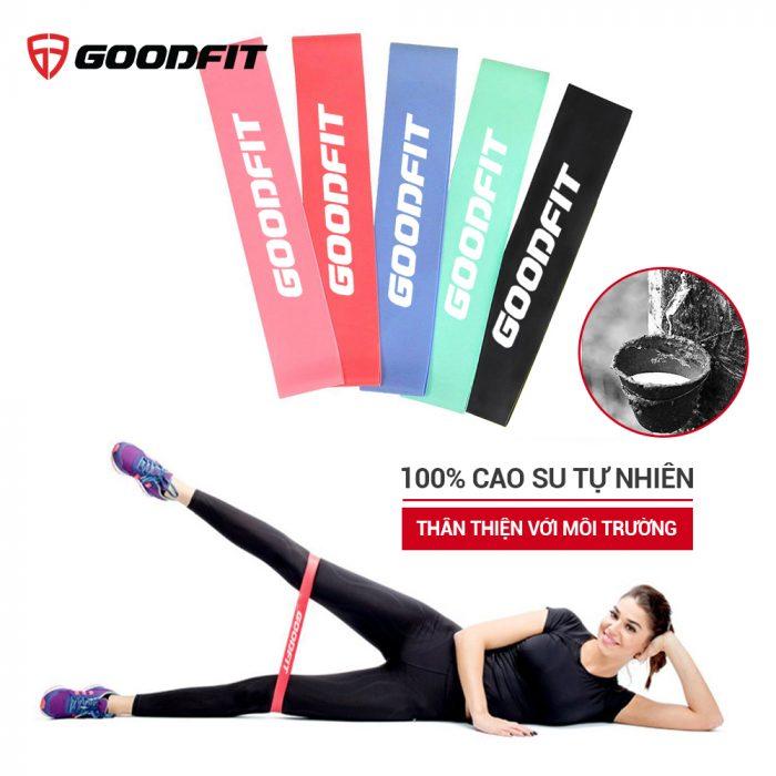 SET 5 Dây thun tập gym mini band GoodFit GF911MB