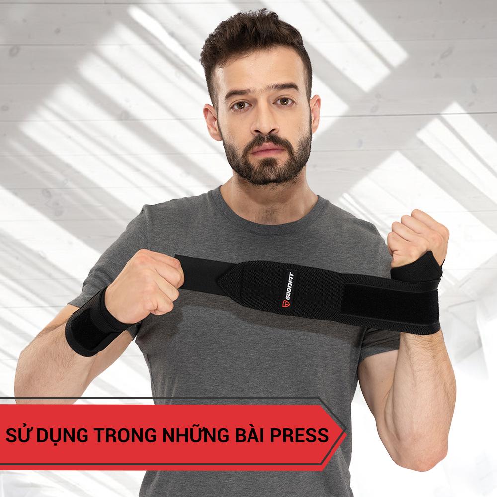 Quấn cổ tay gym hỗ trợ và bảo vệ tay như thế nào?