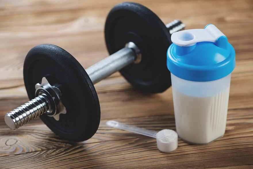 Tập gym nên uống sữa gì?