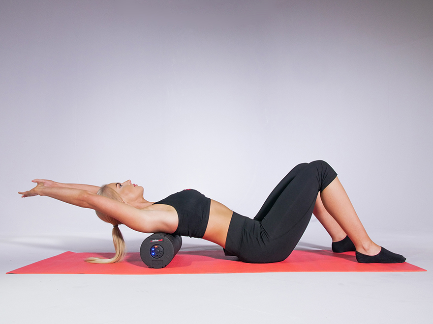 top 5 con lăn yoga cứng matxa sâu cùng 3 bài tập cơ bản