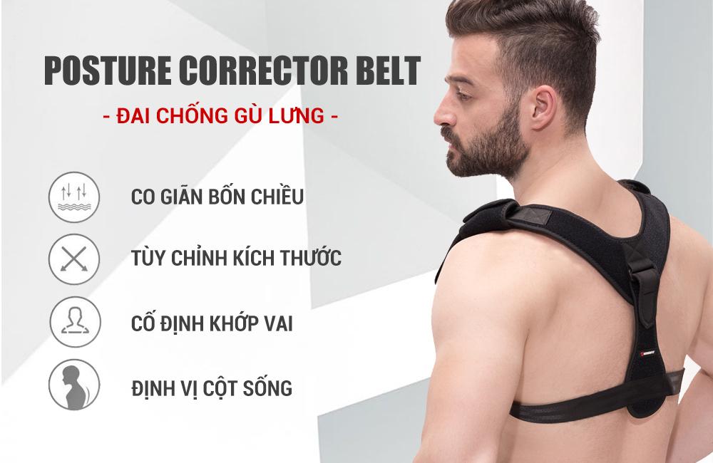 5 loại đai nịt chống gù lưng hỗ trợ cải thiện tư thế tốt