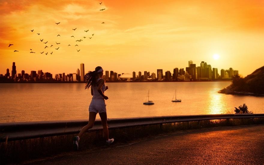 Chạy bộ buổi sáng có giảm mỡ bụng