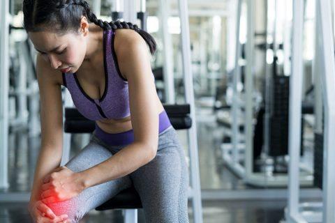 Chấn thương đầu gối khi tập gym