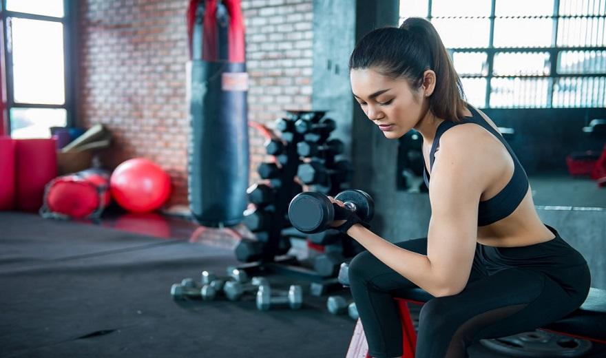 Găng tay tập gym nữ Hà Nội