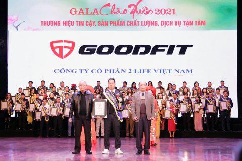 Goodfit top 100 thương hiệu đất Việt 2020