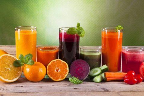 Các loại nước ép trái cây giúp giảm cân