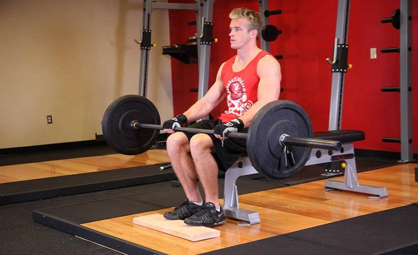Tập động tác nâng bắp chân khi ngồi cho hiệu quả tốt nhất