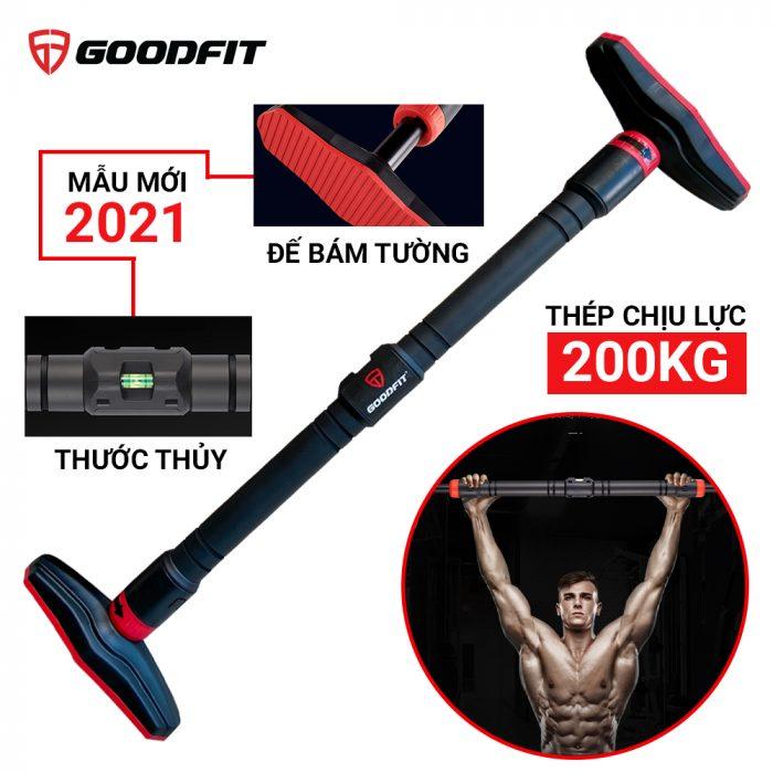 Xa don gan cua treo tuong chiu luc co thuoc thang bang GoodFit GF201PU model 2021 19