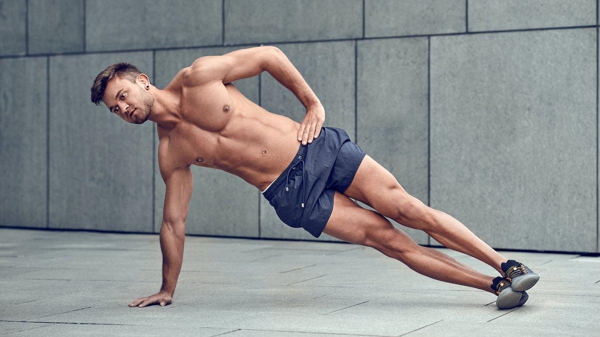 Bài tập Plank 5 phút