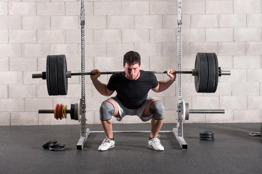 Bó đầu gối tập gym