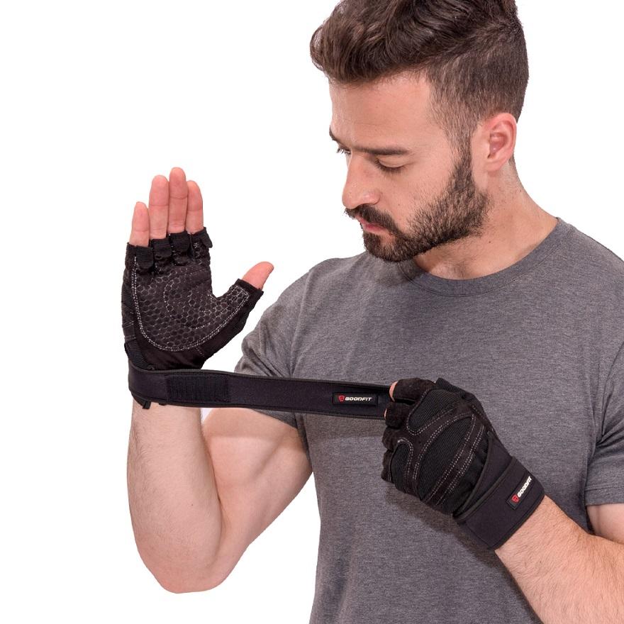 Găng tay tập gym có quấn cổ tay