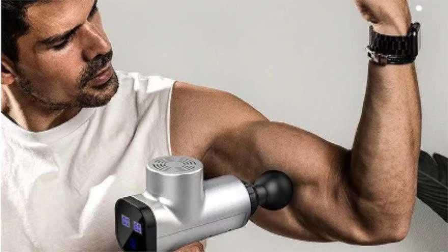 hướng dẫn chi tiết cách sử dụng súng massage cầm tay
