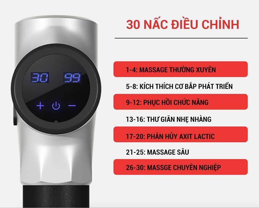 huong dan chi tiet cach su dung sung massage cam tay 3