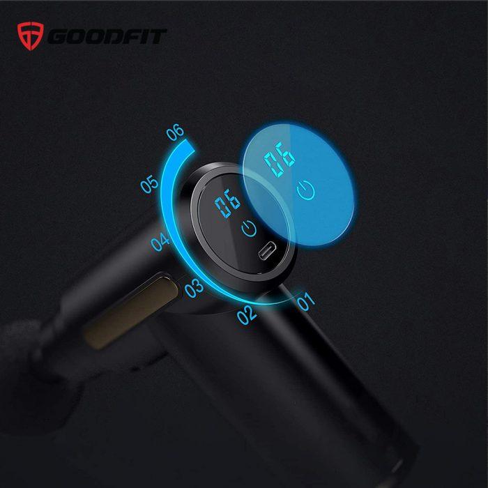 Máy mát xa cầm tay mini Massage Gun GoodFit GF212MG