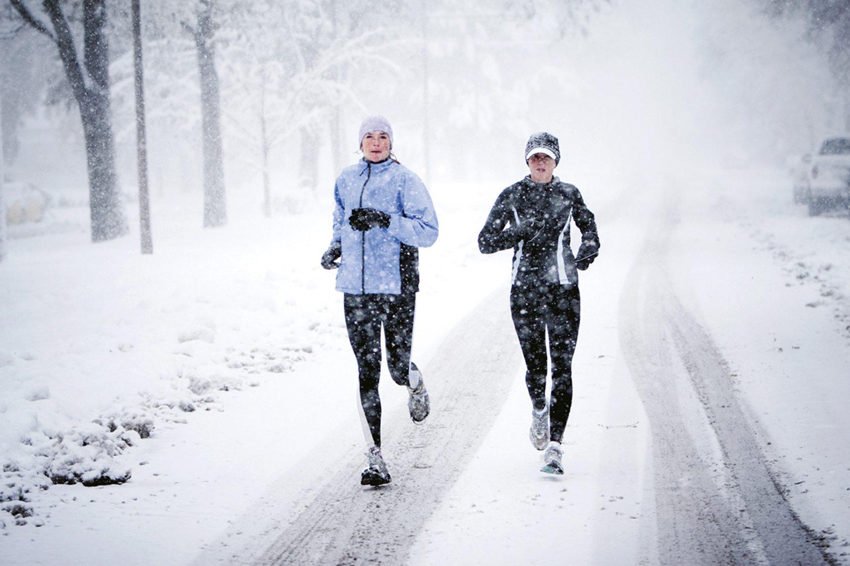 Chạy trong trời lạnh