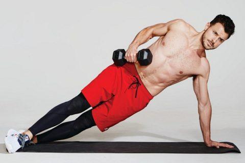 Xây dựng sức mạnh cốt lõi trong ván bên bằng cách nâng hông