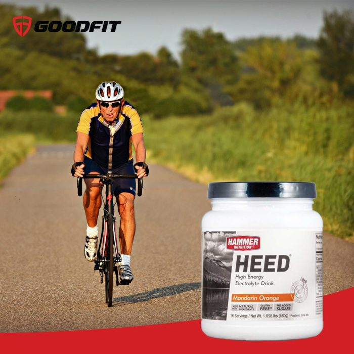 Nước uống cấp năng lượng, chất điện giải Heed Sport Drink Hammer Nutrion (16 Srv)