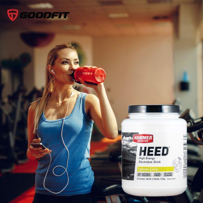 Nước uống cấp năng lượng, chất điện giải Heed Sport Drink Hammer Nutrion (32 Srv)