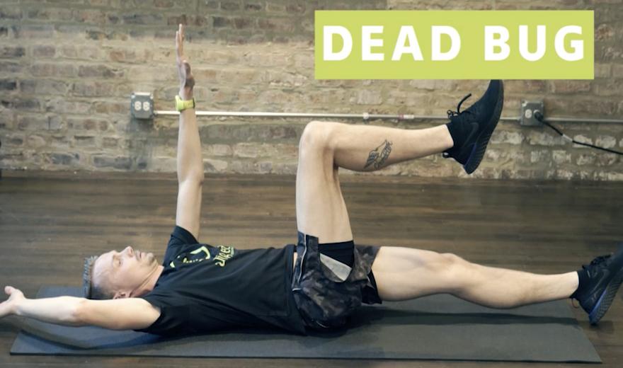 Bài tập Dead bugs: 3 cách để sửa hình thức của bạn