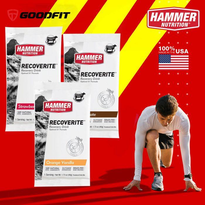 Sữa phục hồi cơ bắp Hammer Recoverite HM10 (1 Srv)