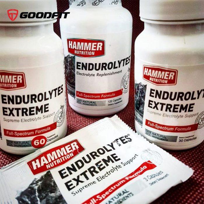 Viên uống bổ sung muối điện giải Hammer Nutrition Endurolytes Extreme (3 Caps)