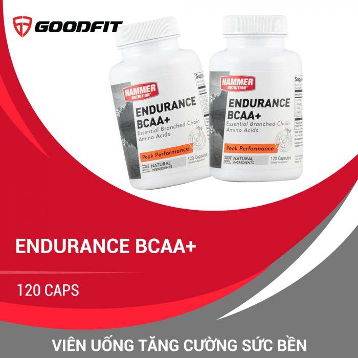 Viên uống tăng cường sức bền Endurance BCAA+ (120 caps)