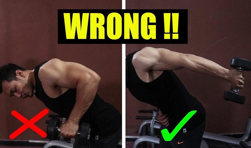 Triceps Kickbacks: Khắc phục 6 sai lầm để có cơ tam đầu khỏe